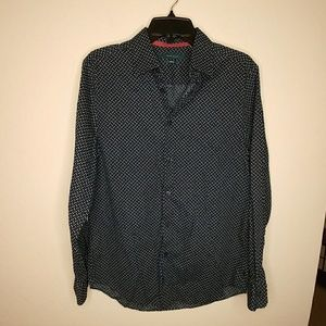 Perry Ellis Stretch Button Up Shirt Size M